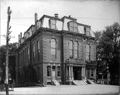 Exterior of Old Town Hall 1871