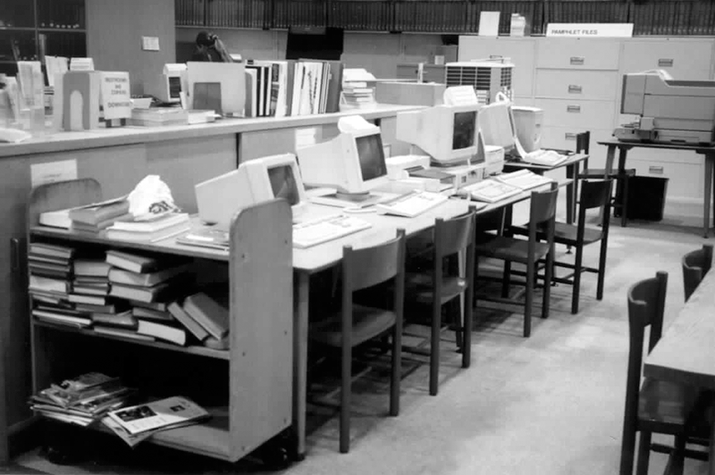 Room with Computers
