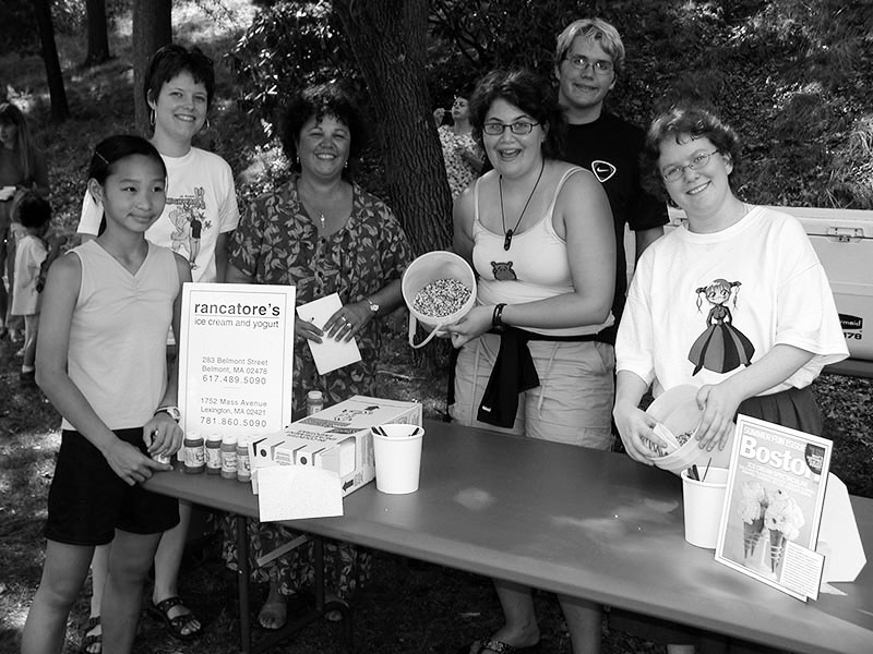 2005 Ice cream social at Cary Memorial Library in Lexington, Massachusetts