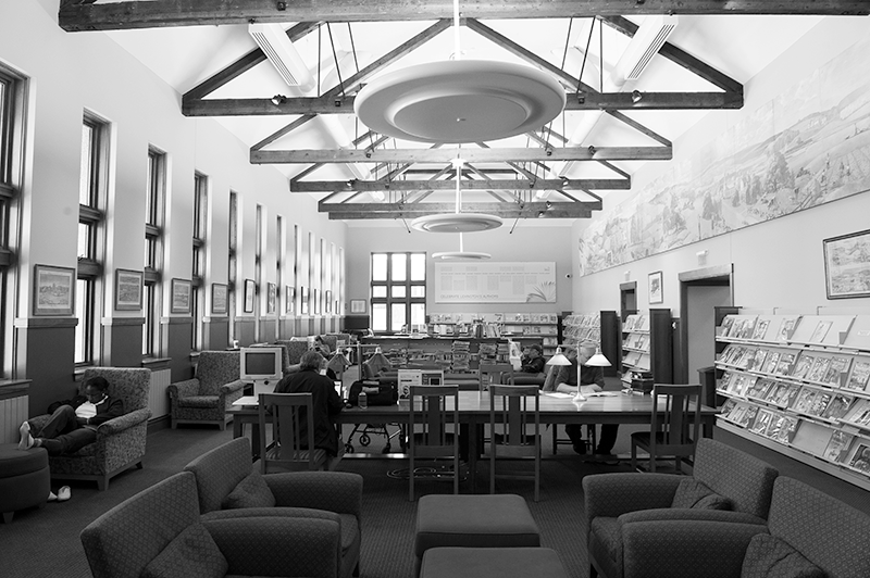 2013 Reading Room at the Cary Memorial Library in Lexington, Massachusetts