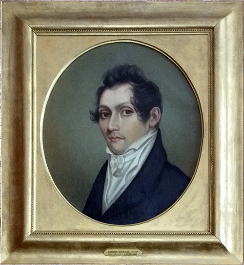 Portrait of Samuel Bowman