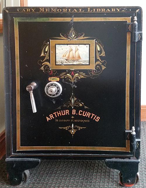 Arthur B. Curtis safe