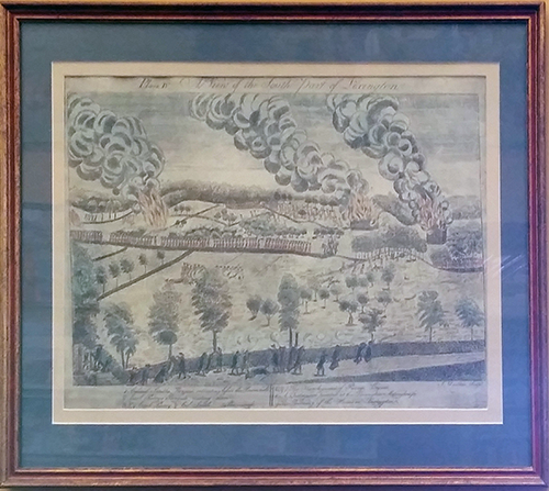 A View of the South Part of Lexington (Plate IV)