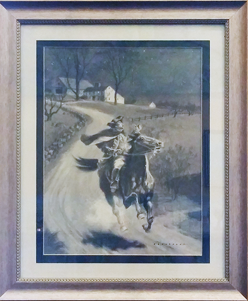 Paul Revere by Philip Brown Parsons; print or etching