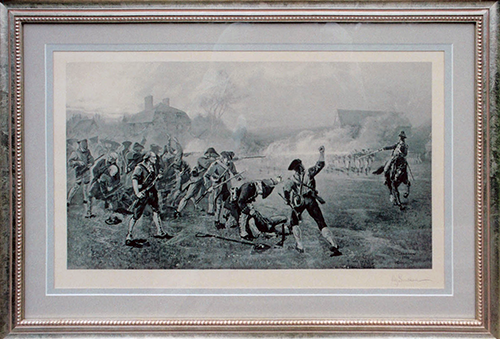 Battle of Lexington, 1886 by Henry Sandham