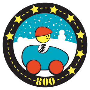 Beanstack Badge 800 for On the Road to Reading at Cary Memorial Library