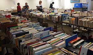 Book sale room