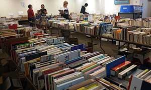 Book sale room