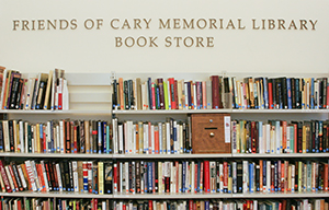 Friends of Cary Memorial Library bookstore