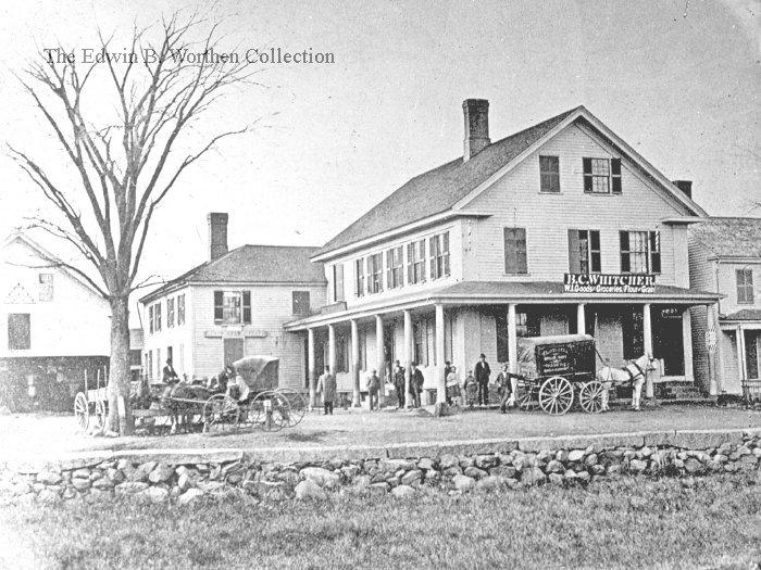 Spaulding's Store, Massachusetts Avenue, 1869