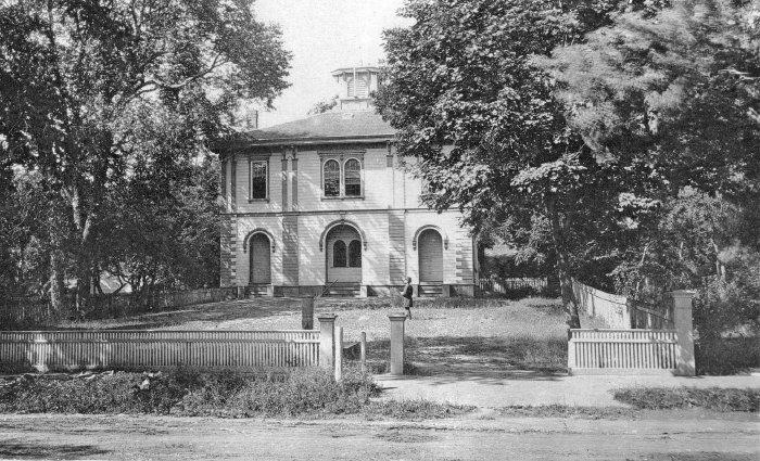 The Old Adams School, 1883