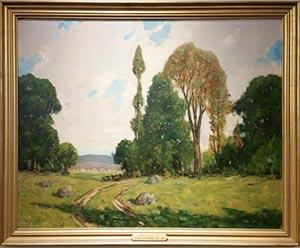 John F. Enser landscape painting