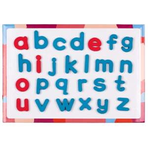 Alphabet as Magnetic Letters