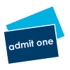 Admit one ticket icon