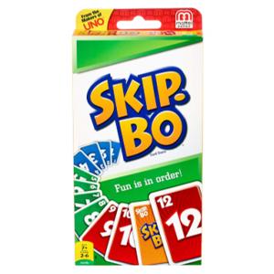 Skip-bo card game box