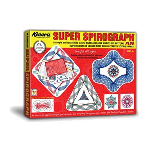 Spirograph box cover