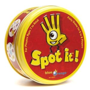 Spot It card game box