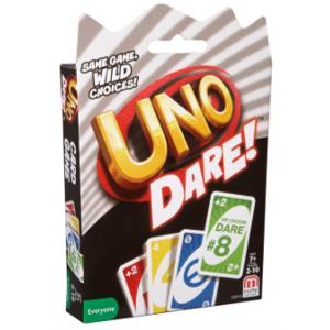UNO Dare card game box